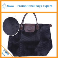 china supplier satin bag foldable shopping bag bag handles