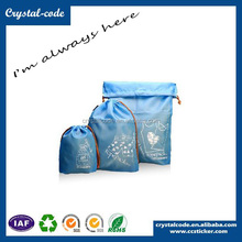 Custom Printing Trendy Polyester Nonwoven Fabric Drawstring Bag