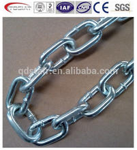 G80 lifting and lashing chain,welded round link chain