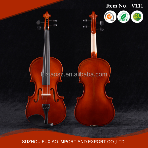 Cheap plywood handmade violin