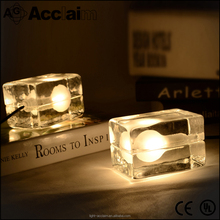 Artistic pierced ice reading lamp for coffee shop
