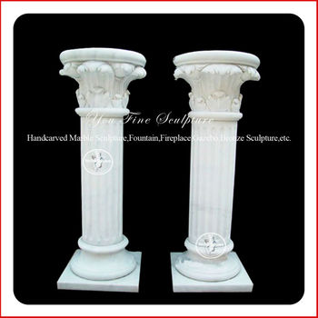 White stone home decorative column mold buy decorative for Where to buy columns for house