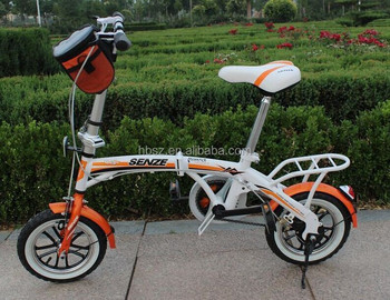 OEM factory single Speed 16 inch 20 inch aluminum folding Bike