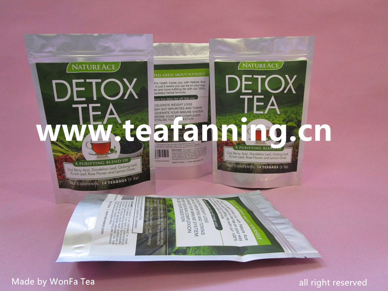 28day Detox Tea, Customized all kinds of USFDA Herbal Teas