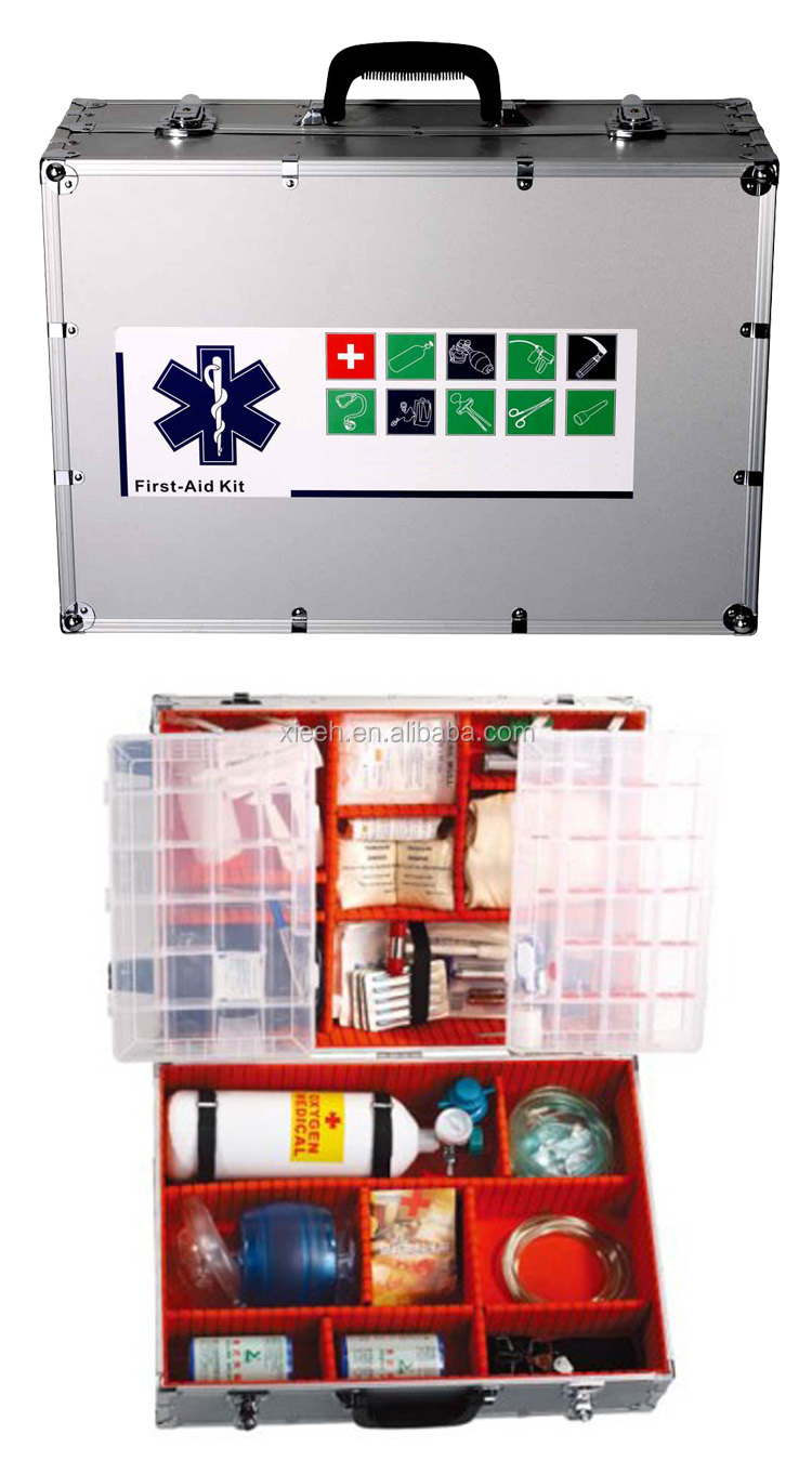 Aluminum Integrated Middle First Aid Kit