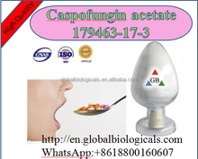 Medical Pharmaceutical high quality human Use white powder Caspofungin acetate CAS 179463-17-3