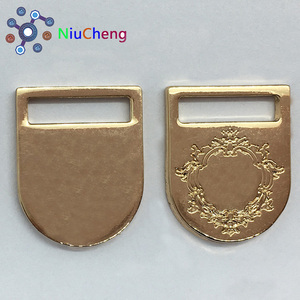 gold color Custom Metal belt buckles