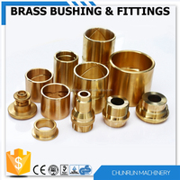 turning machining brass bush taper bushing split bushing sintered bronze bush bearing oil bearing