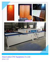 3D lamination of PVC sheets and real wood veneers vacuum press machine TM 2480C-2