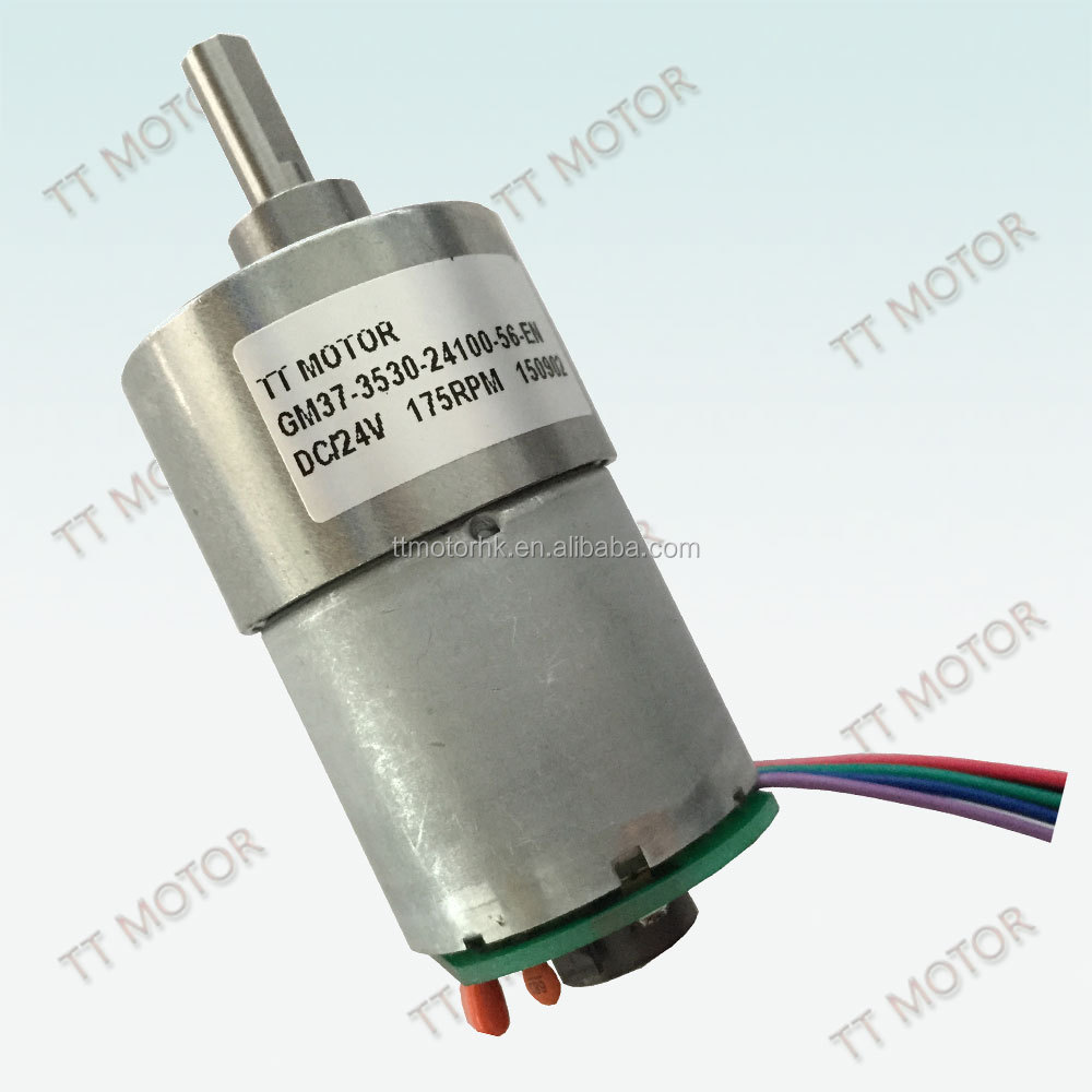37mm 12v dc gear motor 27720 with spur gearbox