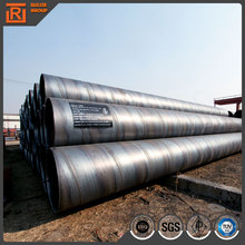 High quality spiral tube used for construction, hot sell din piling ssaw spiral steel pipe