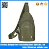 Wholesale fashion nylon men bag sport chest sling bag from China factory