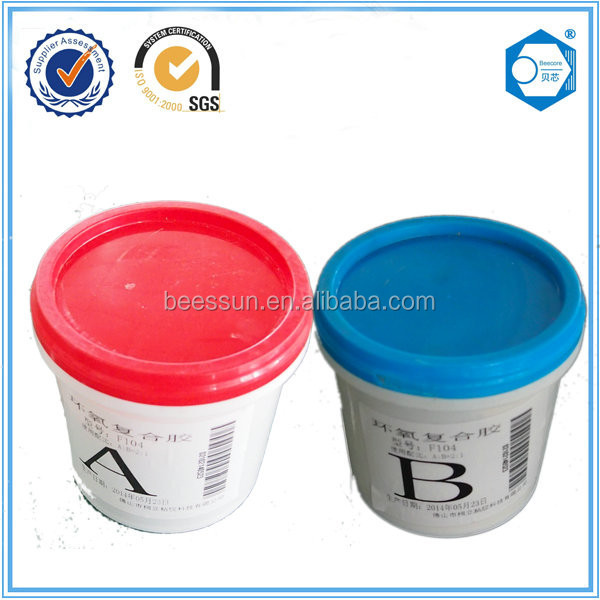 Adhensive glue for PE 1000 with casting steel