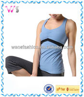 Breathable Polyester&Spandex Yoga Wear&Fitness Wear fitness tank top
