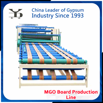 alibaba China manufacturer decorative mgo board production line