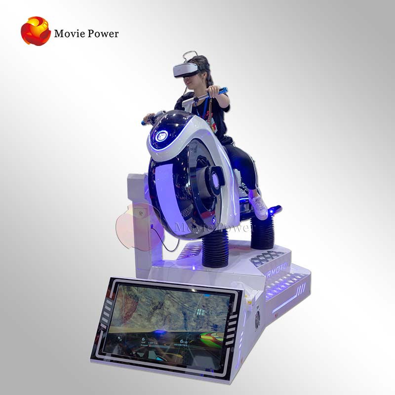 Panyu Vr Moto Game Machine Virtual Motorcycle 9D Gaming Machine Virtual Reality Car