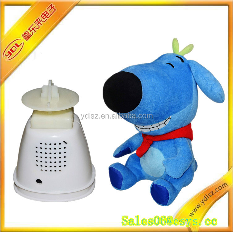 Hot sale fancy voice recording dog repeat talking toy
