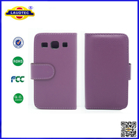 New Arrival 100% Perfect Fit For Samsung Galaxy G3500 Core Plus Case Wallet Case Cover Laudtec