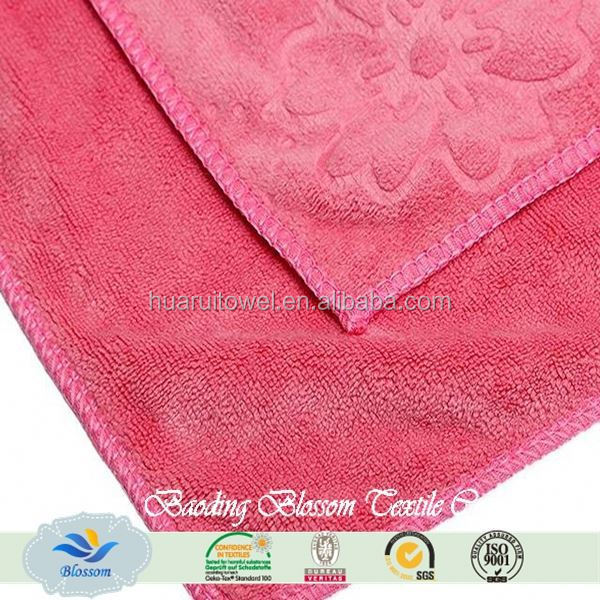 Microfiber wholesale home textile turkish kitchen towels Blossom