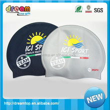 Top fashion attractive style waterproof swim caps with good price