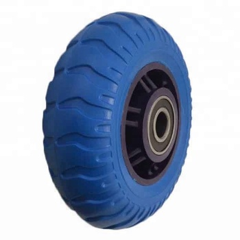20 To 90 Shore A and Any Color PU Solid Rubber Tires