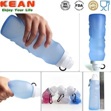 BPA Free Silicone Water Bottle Foldable Water Bottle smart water bottle sizes