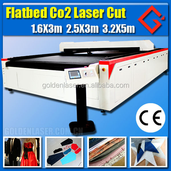 laser cutting machine for knitted clothing fabric cutting