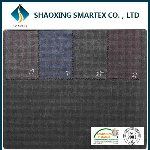 China wholesale Certified Dyed Brush tr fabric suiting fabric