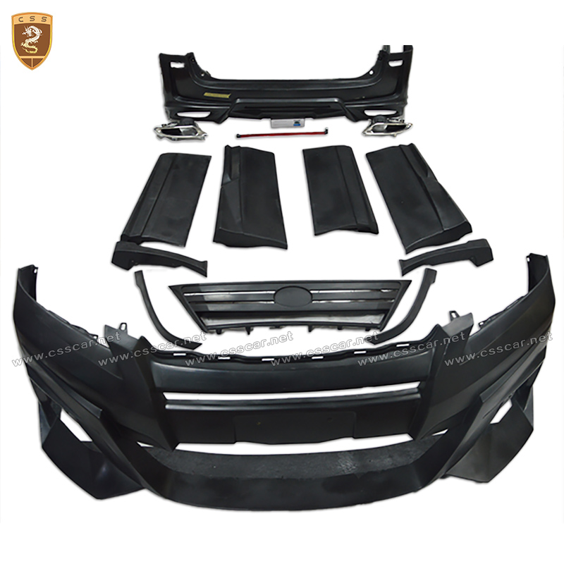 13-14 New design body kit front bumper for TY Car WD body kits
