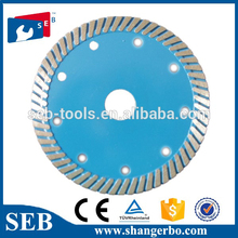 diamond saw blade for porcelain with wet or dry cutting