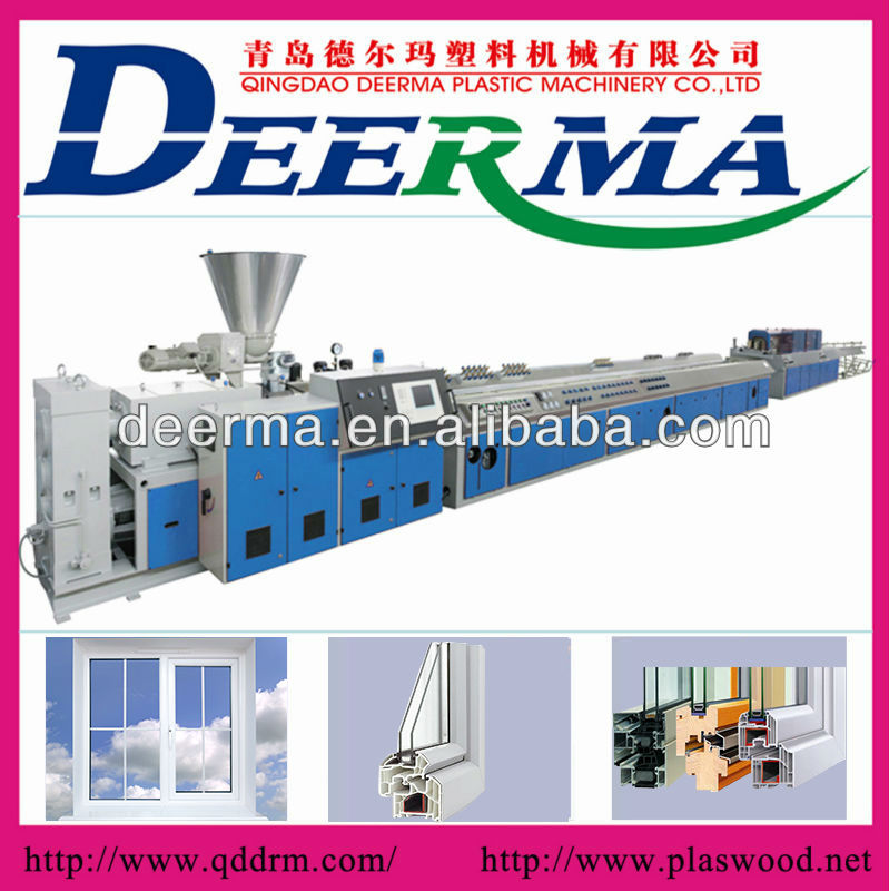 upvc window and door frame production line