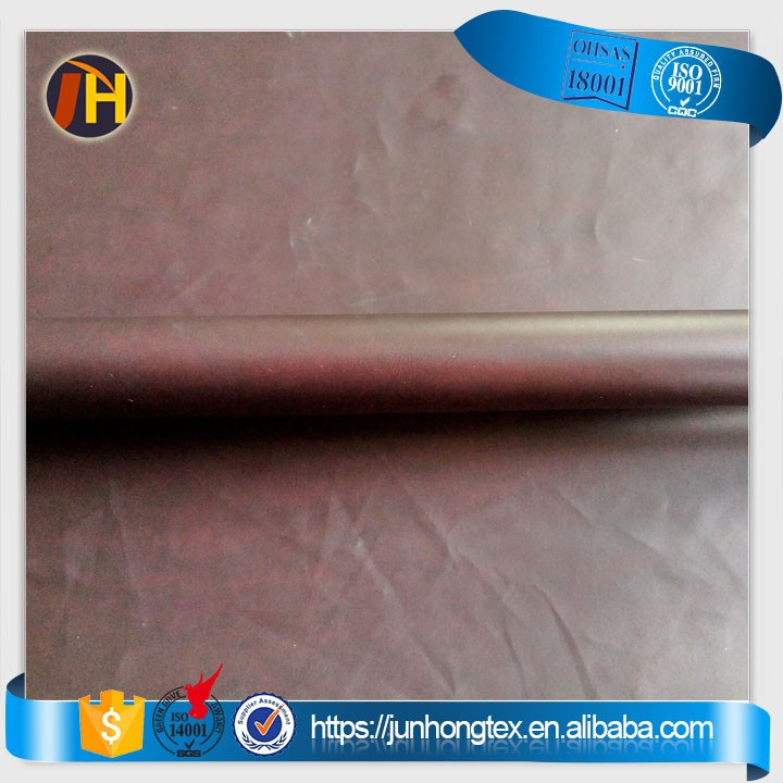 Heat Sensitive Laminated WR Polyester Pongee 260T 75D Fabric