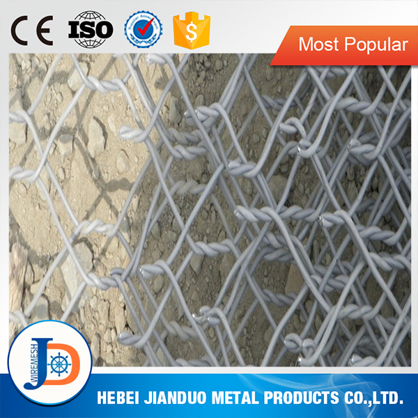 China gabion factory caged riprap for sale