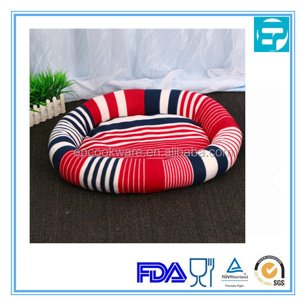 Colorful Self Warming Oval pet dog beds