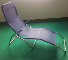 Aluminum sleeping chaise lounge