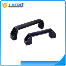 Furniture hardware door handles plastic handle