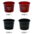 2016 new Fantastic PP flowerpot mini plastic cake cup with spoon 170ml