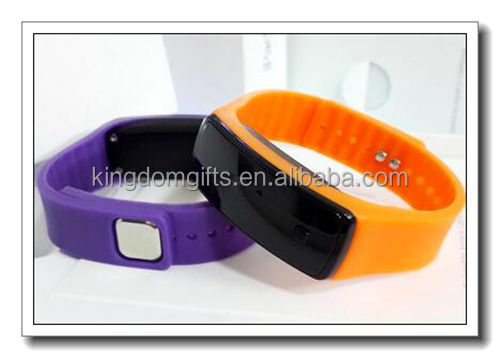 square touch screen silicone watch,wrist watch,slap watch