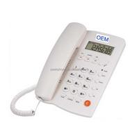 Analog Desk Top Telephones Caller ID Table Phones