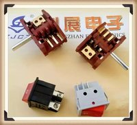 selector rotary switches 2-4 ways/oven rotary switch /volume control switch