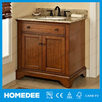 2014 newest solid wood bathroom space saver cabinet