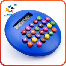 Hot seling plastic cheap promotional Gift Mini clip Calculator