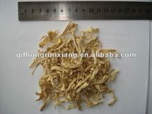 Dehydrated shredded ginger