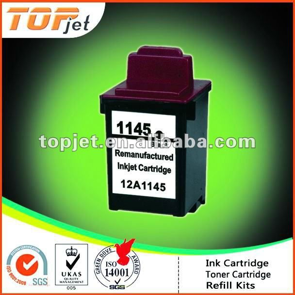 HOT SALE Remanufactured Ink Cartridge for Lexmark Model 1145(Recycled/Reused/Remanufactured ink cartridge)