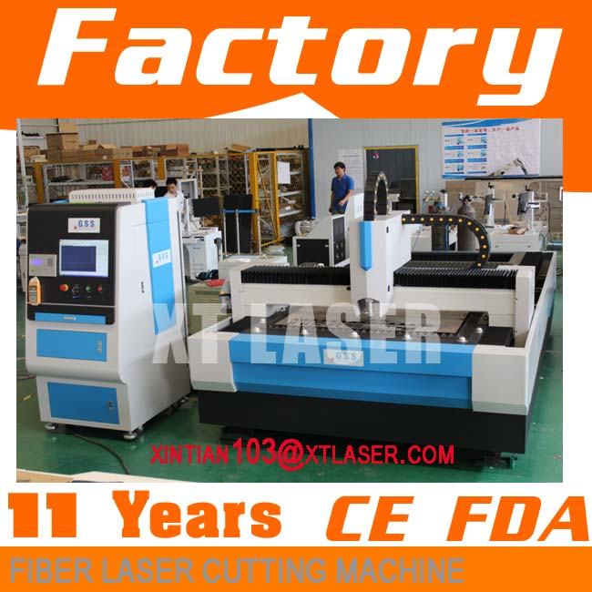 CE Certification and Yes CNC or Not fiber laser cutting head | fiber laser cutting machine | 500w fiber metal cutting