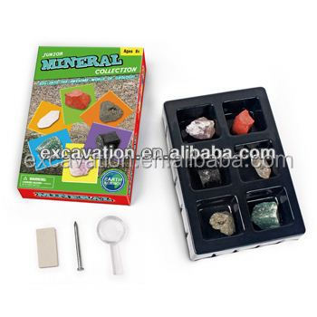 Junior Rock and Mineral Collection Kit Geological Science Kit