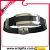 high quality cheap friendship bracelets made of silicone and metal