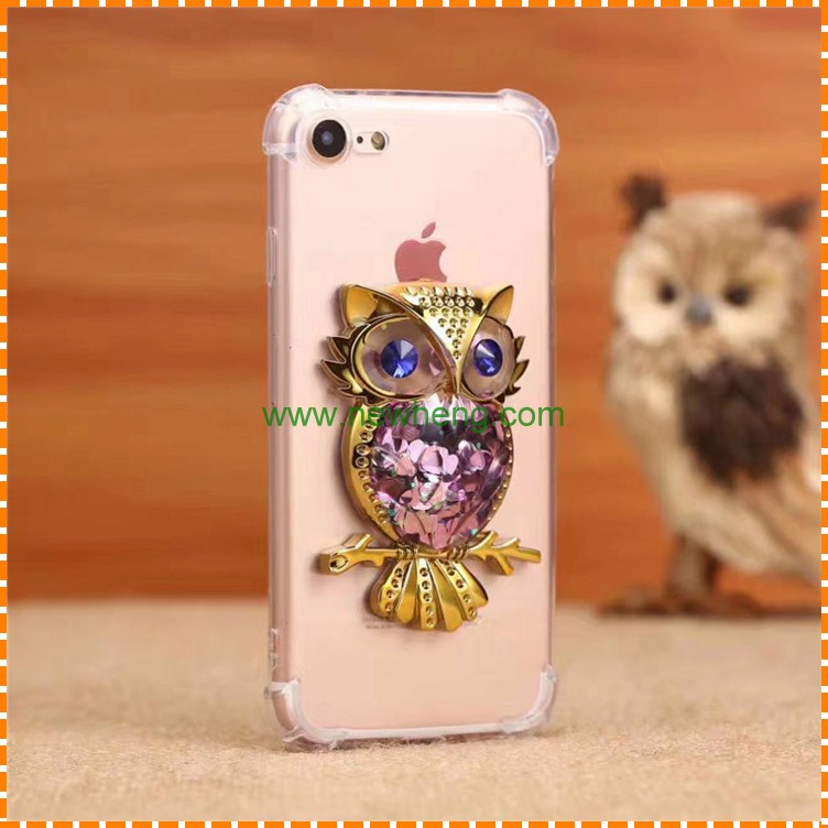 New stley cartoon Owl wholesale four airbags phone case for iphone 7