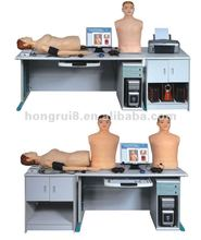 Auscultation and palpation of cardiopulmonary and abdomen,blood pressure messurement