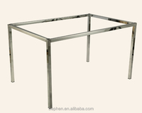 office furniture parts height adjustable table leg chrome plating office desk legs 10013E1